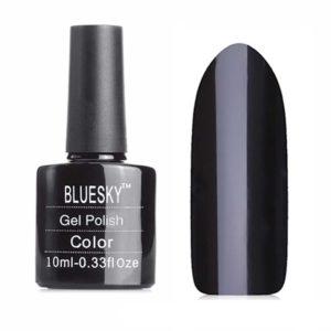 Гель-лак Bluesky №80518 черный, 10 мл