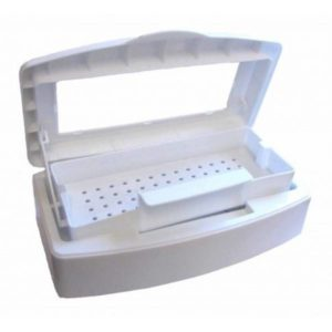 Контейнер пластиковый для стерилизации инструментов с окошком