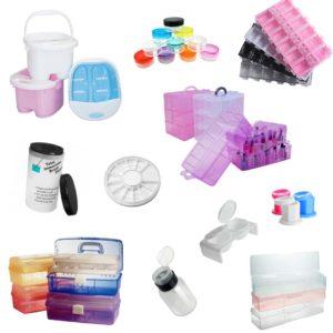 Емкости и контейнеры для маникюра и педикюра