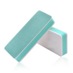 Баф (блок) полировочный 2-х сторонний, зелено-белый
