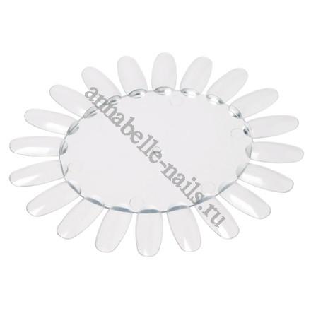 Палитра для лаков и дизайна Ромашка Прозрачная, 20 цв