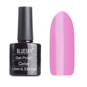 Гель-лак Bluesky №80523 ярко-розовый, 10 мл