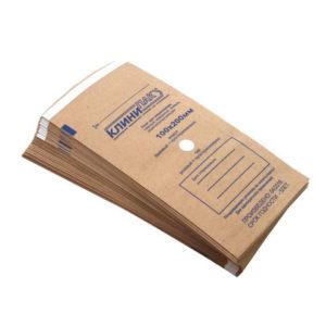 Крафт-пакеты для стерилизации 100х200мм КлиниПак, 100шт