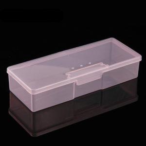 Контейнер для хранения маникюрных инструментов и кистей, Розовый