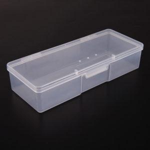 Контейнер для хранения маникюрных инструментов и кистей, Белый