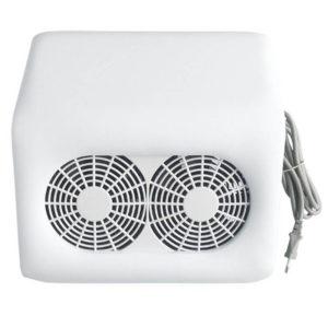 Вытяжка с двумя вентиляторами Double Strong Fans 48W, Белая