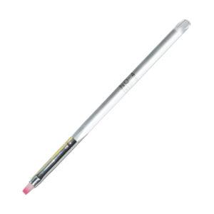 Кисть для геля прямая №4, Прозрачная ручка