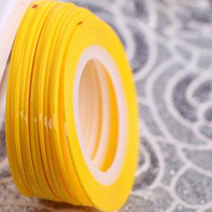 Самоклеющаяся лента №21, Желтая