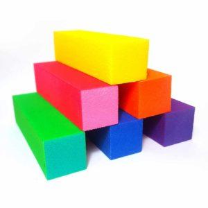 Баф (блок) шлифовочный 4-х сторонний, в ассортименте