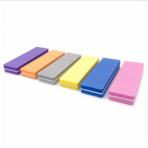 Баф (блок) полировочный 9см Прямоугольный 100/180, в ассортименте