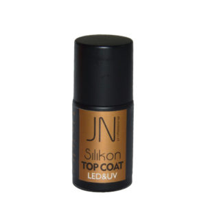 JN Топ силиконовый Silicone Top Coat с липким слоем, 10мл