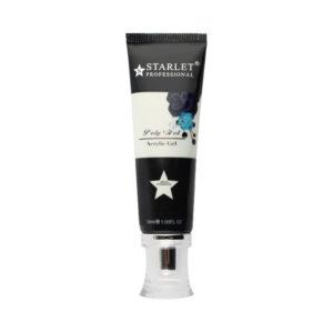 Полигель (акригель) Starlet Professional №02 белый, 30 мл