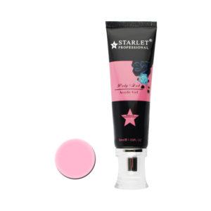 Полигель (акригель) Starlet Professional №04 темно-розовый, 30 мл