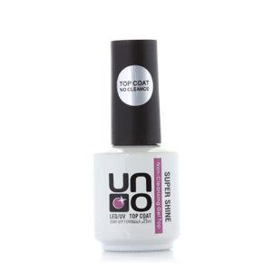UNO Топ Super Shine Верхнее покрытие без липкого слоя «Супер блеск», 15 мл