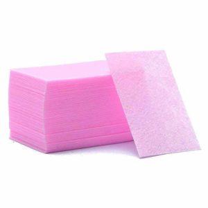 Безворсовые салфетки плотные, Фиолетовые ~60шт