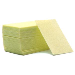 Салфетки безворсовые Жесткие, Желтые ~60 шт