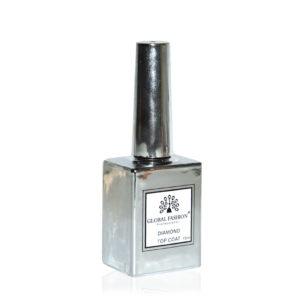 GF Top Coat Diamond Универсальное верхнее покрытие без липкого слоя, 15мл