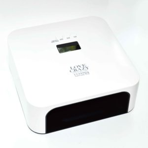 LED+UV Лампа с сенсором и дисплеем N9, 60W Белая