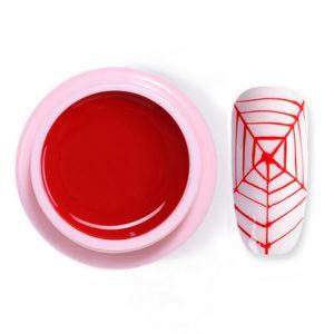 Гель-краска-паутинка Songling №4, красная