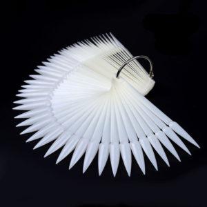 Дисплей-веер на кольце «СТИЛЕТ» матовый, 50шт (1)