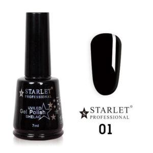 Гель-лак Starlet Professional №001 «Черный агат»