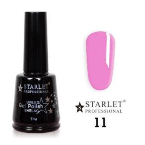 Гель-лак Starlet Professional №011 «Ромео и Джульетта», полупрозрачный