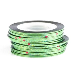 Самоклеющаяся лента №22, Зеленая голографическая