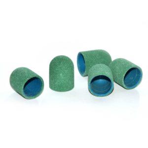Колпачок абразивный, Зеленый 13х19мм, 240грит