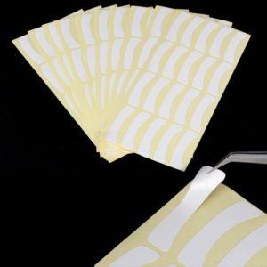 Виниловые наклейки для наращивания ресниц, 100пар