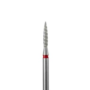 243.018 Фреза алмазная «Торнадо пламя» 1.8мм, мягкая