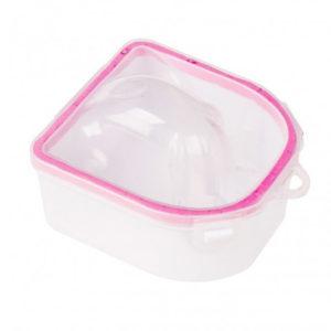 Ванночка для горячего термо маникюра, розовая