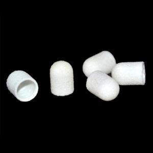 Колпачок абразивный Белый 10х15мм, 100грит