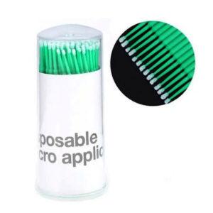 Микробраши «PP-902 fine» 2мм зеленые, 100шт