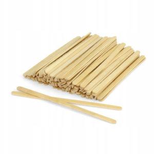 Шпатель деревянный для нанесения воска 14х0.5см