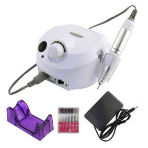 ZS-601, Аппарат для маникюра и педикюра 65W 45 000 обмин, белый
