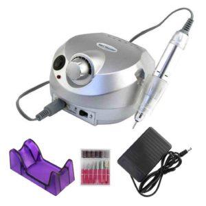 ZS-601, Аппарат для маникюра и педикюра 65W 45 000 об/мин, серебро