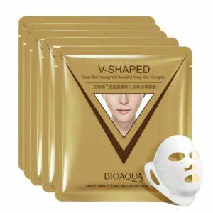 Bioaqua, Тканевая маска для коррекции овала лица с гиалуроновой кислотой