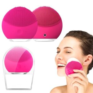 LINA Mini2, Электрическая силиконовая щетка для чистки и spa-массажа лица