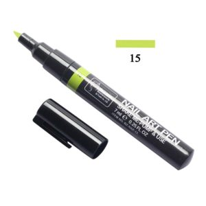 Nail Art Pen, Маркер для дизайна ногтей №15, 7мл