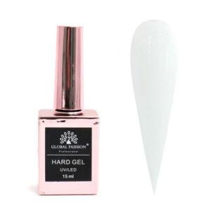 GF, HARD GEL для наращивания и укрепления ногтей №02 белый, 15мл