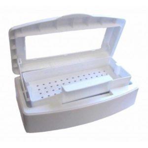 Бокс для стерилизации инструментов (прозрачная крышка)