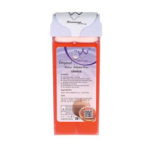 Воск для депиляции в картридже роликовый Konsung Beauty, Апельсин, 150г