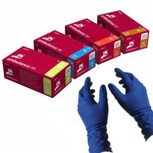 Ambulance, Перчатки латексные повышенной прочности 25пар