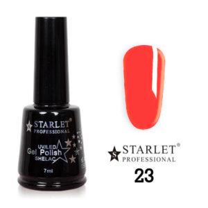 Starlet, Гель-лак №023 «Корал», 7мл