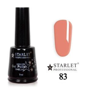 Starlet, Гель-лак №083 «Персиковый коктейль», 7мл