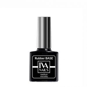 IVA Nails, Base Rubber Medium Viscosity Каучуковая база, 8мл