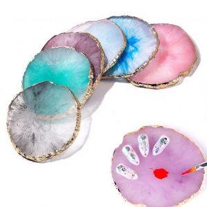 Палитра для смешивания красок и демонстрации ногтей «Камень»